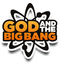 God and the Big Bang Retina Logo